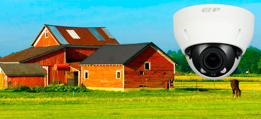Обзорная купольная камер EZ-IP EZ-IPC-D2B40P-ZS с широкоугольной оптикой