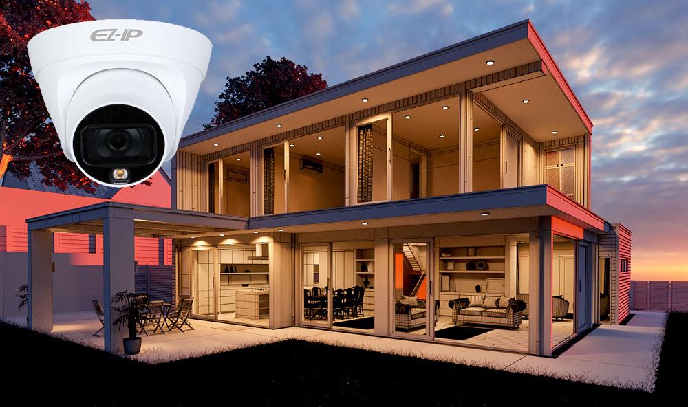 Компактная уличная камера EZ-IPC-T1B20P-LED